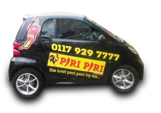 Piri piri corner Free delivery on orders over £10.00 within a three mile radius of our branches